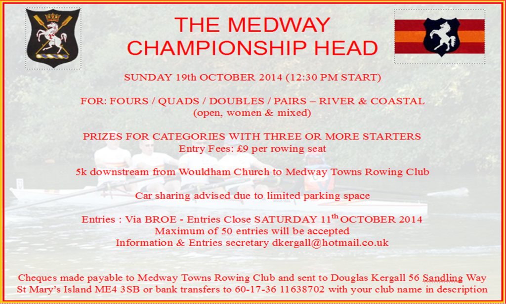 Medway Head Poster